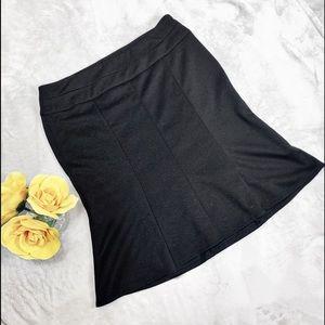 Candies Black Flare Skirt